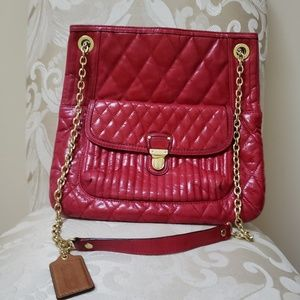 Gorgeous, gorgeous red Coach purse